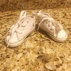Size 3 white converse